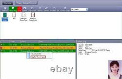 1 Door Access Control Panel & Input AC 220/230V Output DC12V 5A Power Supply Box
