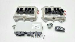 2014-2016 Bmw 550i F10 4.4l V8 Engine Computer Ecu Cas4 Key Oem