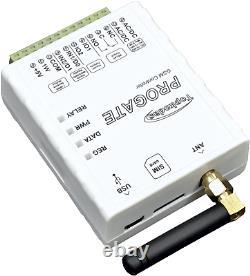 2G 3G 4G LTE GSM Relay Switch 12V 24V Barrier Access Control Door Gate Opener