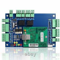 2 Door Access Control Panel Board with Power Supply Box Ethernet TCP/IP Door Locks
