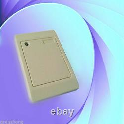 2-Door RFID Access Control System with Cabinet/RFID Reader/Keyfobs/Exit Button