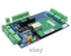2 Doors TCP/IP Network Access Control Kit Panel Controller Keypad Reader Power