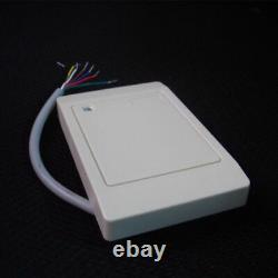 4-Door RFID Access Control System with Cabinet/RFID Reader/Exit Button/Key FOBs