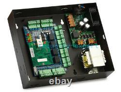 4 Doors Access Control Systems Kit Keypad Reader AC230V Power Box Strike NO Lock