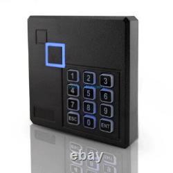 4 Doors Security Access Control Systems Deadbolt Electric Drop Bolt Lock Keypad