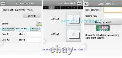 4 Doors TCP/IP Access Control Systems Exit Motion Sensor 230V Power RFID Reader