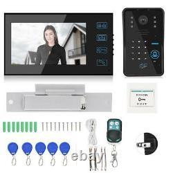 7 TFT Video Doorbell Intercom Security Camera Door Bell Phone Access Control DD