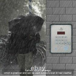 850/900/1800/1900MHz GSM Audio Intercom for Door Gate Open Access Entry Control