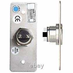Access Control Inswinging Door 600Lbs Electromagnetic Lock Kit with Remote