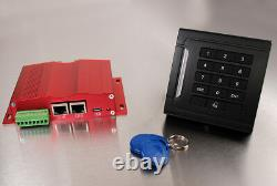 Access Control for electric door with TCP/IP Ethernet interface