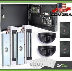 Access control 2 Door Zkteco, C3 200 Door entry System kit ZK, Exit montion. USA