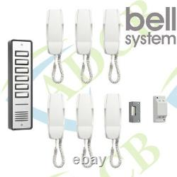Bell 906 6 Way Station Door Entry and access control with lock release