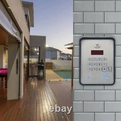DC12V GSM Audio Caling Intercom Door Access Controller Waterproof With Keys