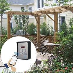 DC 12V Metal GSM Audio Intercom for Door Access Control System Apartment Gate