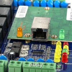 Door Access Control Board Network Panel WG26 4 RFID Card Reader Password Keypad