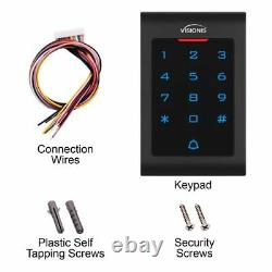 Door Entry System 600lbs Maglock with VIS-3002 Keypad and Wireless Receiver Kit