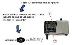 Electric Door Lock Metal Access Control Kits Password Keypad Security Devices