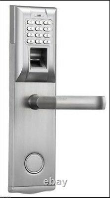 Fingerprint Access Control Security Digital Brand New Keyless Password Door L re