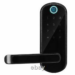 Fingerprint Door Lock Password Key Card Mobile APP unlock Home Access Control