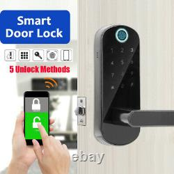 Fingerprint Password IC Door Lock for Access Control home office Smart security