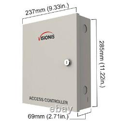 Four Door Access Control with Software Maglock Time Attendance TCP/IP Controller