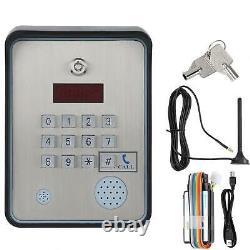 GSM Alarm Audio Intercom Access Controller For Home Door Gate Entry Opener