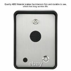 GSM Audio Intercom for Single House Door Gate Door Access Entry Control System
