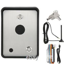 GSM Audio Intercom for Single House Door Gate Open Access Entry Control System