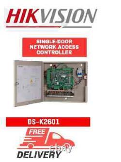 Hikvision DS-K2601 single-door network access controller, intrusion