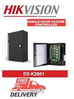 Hikvision DS-K2801 single-door access controller, intrusion