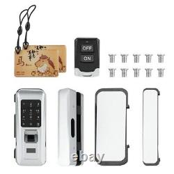 Keyless Gate Lock Glass Door Lock for Smart security office Access Control home