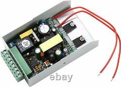 Metal Door RFID Reader Access Control Security System Kit Code Keypad ID Card