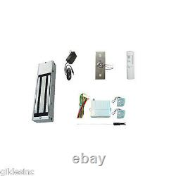 NEW Retail Store Single Door Magnetic Lock Access Kit. With 1200 lbs HF Mag Lock