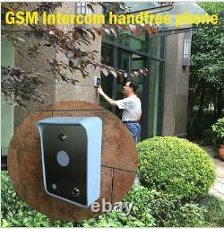 NSEE HS 4G GSM Quad Band Wireless Intercom Gate Door Access Entry Control System