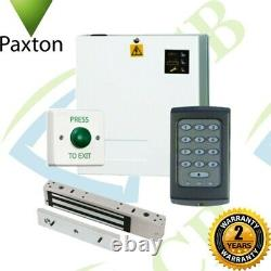 Paxton K50 Compact Code Access Control Door Entry PRO Kit Power Supply & Maglock
