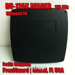 ProxiGuard 125KHz RFID Door Access Control Reader Wiegand 26 BU125K