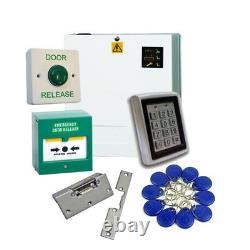 Proximity Access Control Door Entry Kit Call Point PSU Fail Safe Lock Release
