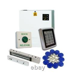 Proximity Access Control Door Entry Kit with Power Supply and Maglock Pro Kit
