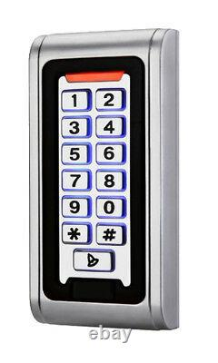 Proximity Keypad Access Control Door Entry Kit with Power Supply, Maglock + Z&L