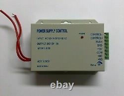 RFID Tag Door Access Control System Kit Electric Lock 125KHz External Doors