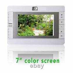 SONET Villa Intercom 7 LCD Colour Video door entry system with access control