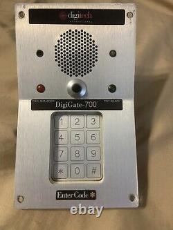 Self Storage Access Keypad DigiTech 700 PTI SECURITY CONTROL DOOR GATE CONTROL