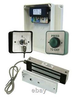 Simple Gate Access Control Door Entry Kit WEATHERPROOF Power Supply, Maglock