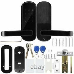 Smart Door Lock BT APP RFID Card Password Touch Keypad Door Access Control Key