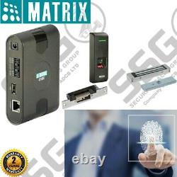 Supply & Fit Electronic Biometric online IP Access Control Door Lock System