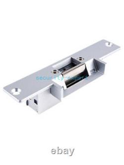 TCP/IP 4 Door Access Control Panel System Kit Strike NO Lock AC220V Power Supply