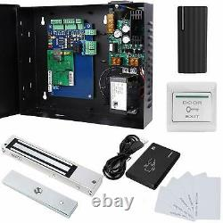 TCP/IP Network Single Door Access Control Board Kit with 600lbs Magnetic Lock