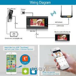 TMEZON 1080P Wifi Video Intercom Gate HD Door Phone Access Control 7 IP Monitor