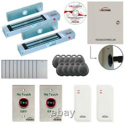 Two Door Access Control with Software Maglock TCP/IP Controller Time Attendance