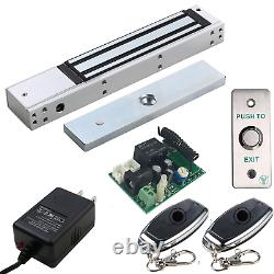UHPPOTE Access Control Outswinging Door 600lbs Force Electromagnetic Lock & Kit